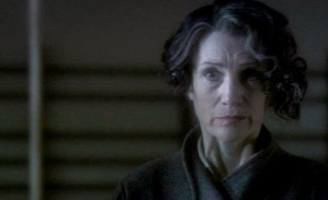 Harriet Walter as Miss Bullstrode