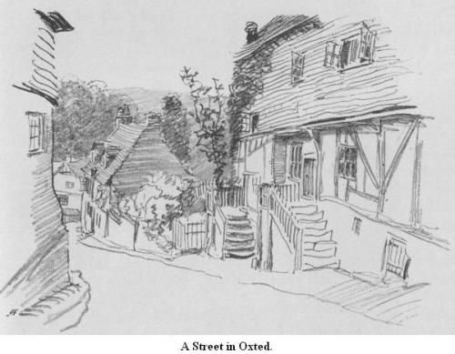 A Street in Oxted 1909