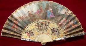 Ladies fan, 1750