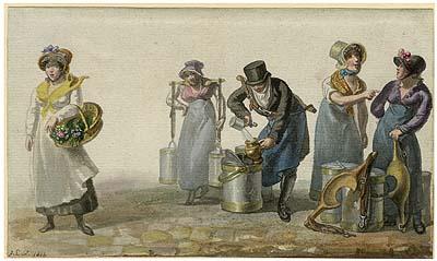 Milkmaids, George Scharf