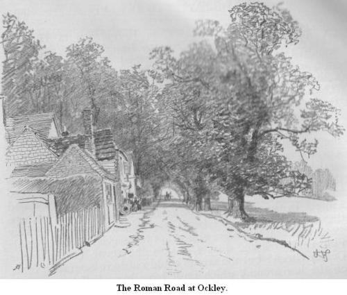 roman road, 1909 H. Thomson