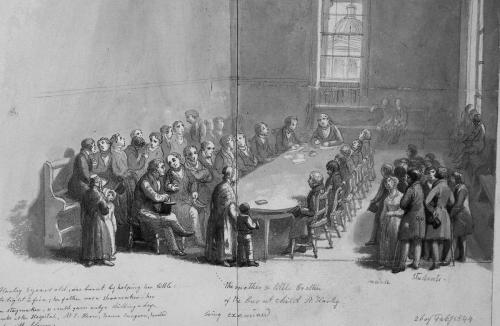 Forensic Trial, George Scharf, Feb 1844, London