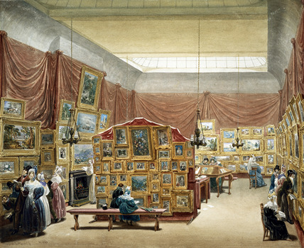 The Gallery of New Society of Painters, George Scharff, The Victoria & Albert Museum