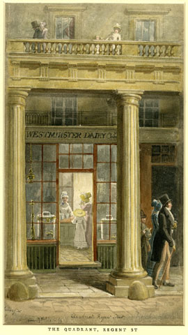 The Quadrant, Regent St., George Scharf