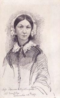 Florence Nightingale, Sir George Scharf, 1847