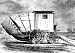 Beale bathing machine