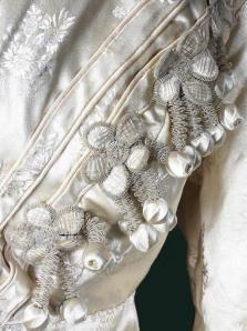 Detail, early 19th c. redingote