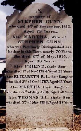 Martha's grave