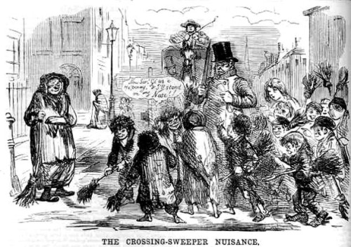 Crossing Sweepers, 1856
