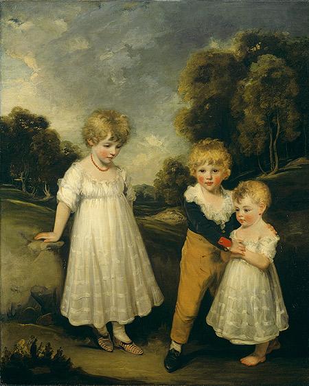 The Sackville Children, John Hoppner 1797