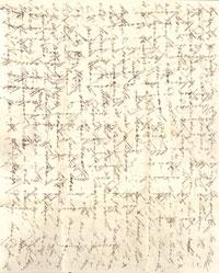 Small cross written letter