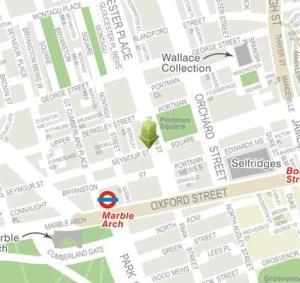 Upper Seymour Street and Portman Square