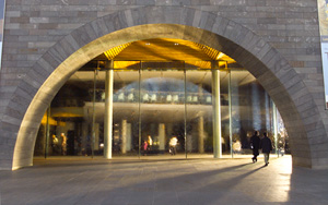 Entrance arch to the National Gallery of Victoria