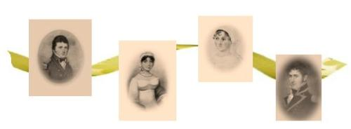 Francis, Cassandra, Jane, and Charles were the Austen's youngest children.