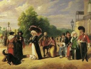 Hyde Park Corner, 1822, Charles Cranmer Jr
