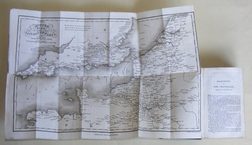 London to Paris Routes, Planta's Paris, 1825