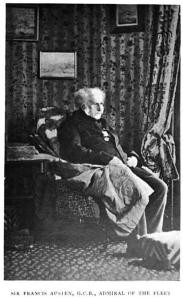 Sir Francis Austen lived until 1865, well into the age of photography