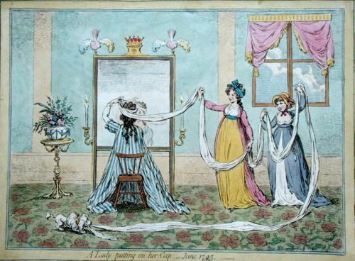 gillray fashion cartoon