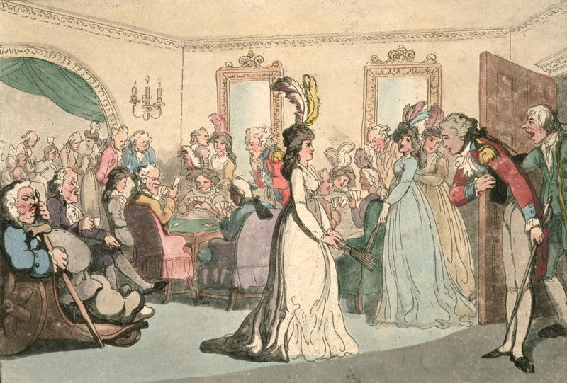 the purpose and fashion of the evening wear during the regency period British fashion and clothing in the 18th and 19th century, the georgians and regency period.