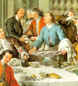 What type of vegetables, meats, and fruits did they eat in England during the 16th century?