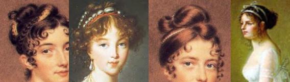 Enjoyable Regency Hairstyle Jane Austens World Natural Hairstyles Runnerswayorg