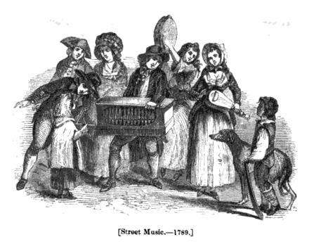 street music 1789