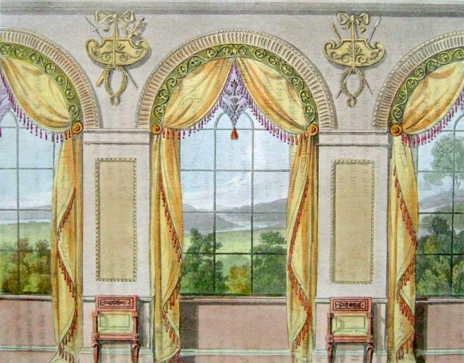Regency interiors jane austen 39 s world for Regency dining room