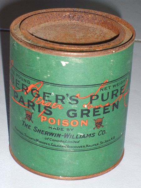 Green Paint Copper Arsenite