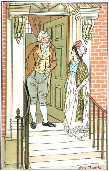 Northanger Abbey, Brock illustration, Jane Austen