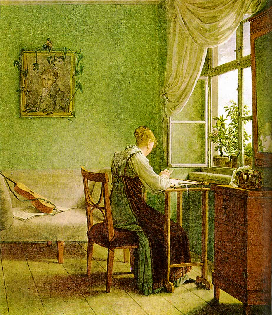 Love Girl Reading Wallpaper : Emerald Green or Paris Green, the Deadly Regency Pigment Jane Austen s World