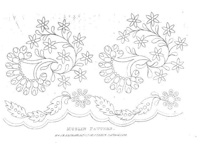 Embroidery Patterns Jane Austens World