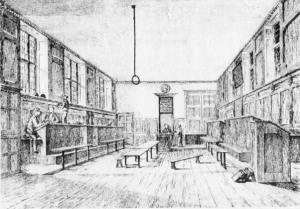Upper School, Tonbridge, where George Austen taught