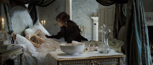 Pride and Prejudice, Jane ill in bed