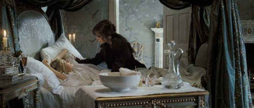 Pride and Prejudice, Jane ill in bed