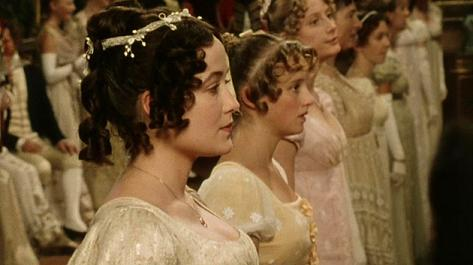 Image result for pride and prejudice 1995 hair