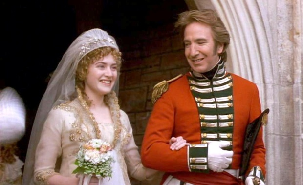 Image result for sense and sensibility 1995 wedding