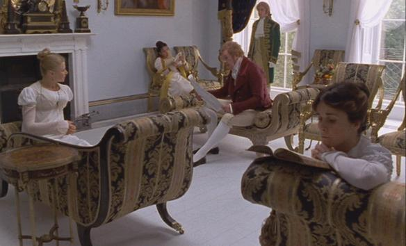 Regency interiors in the 1995 adaptation of persuasion inspired by antiquity and sir thomas - Auayen architektur ...