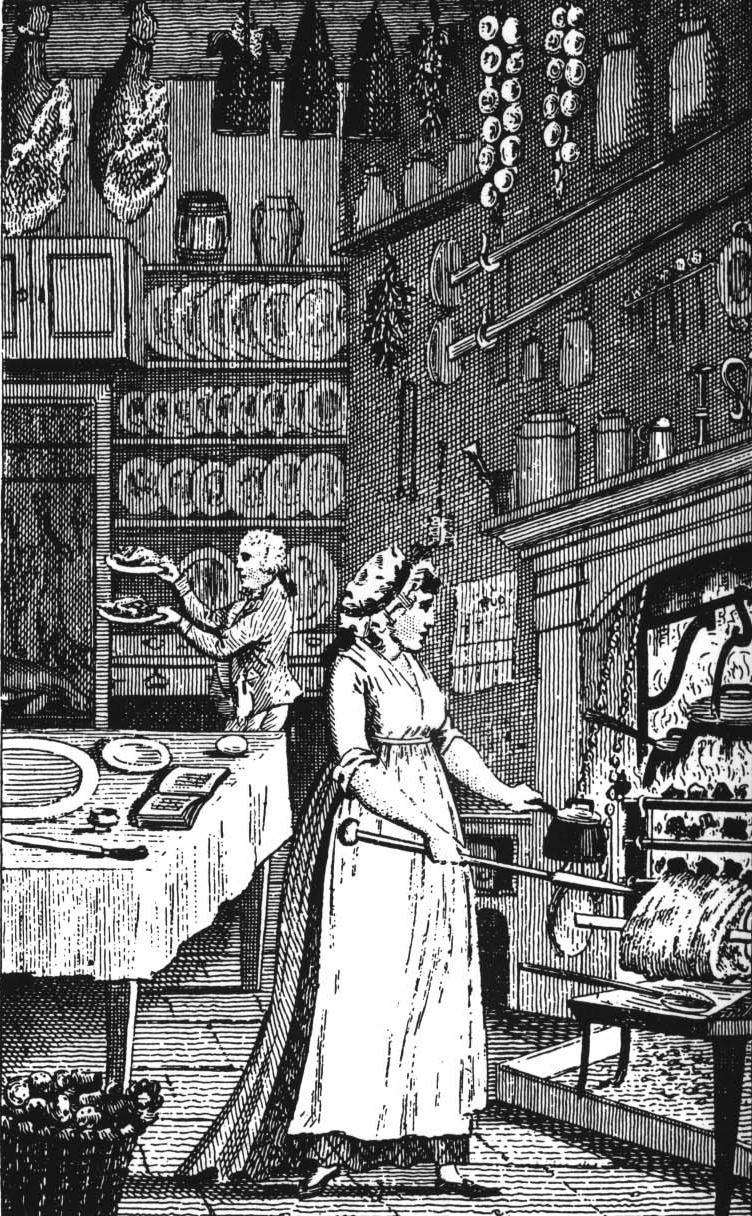 18th century cookery books and the british housewife for 17th century french cuisine