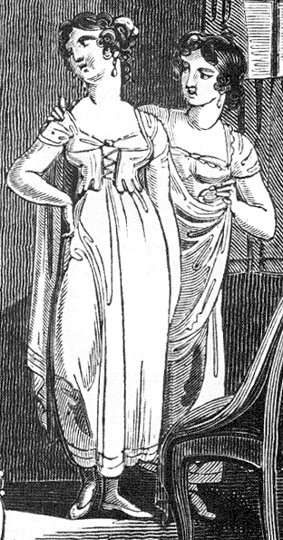 Regency Undergarments Jane Austen S World