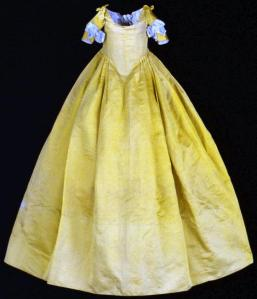 Infant gown with removable sleeves, emuseum collection, Colonial Williamsburg