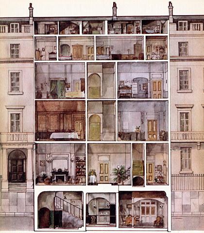 Georgian house interior layout