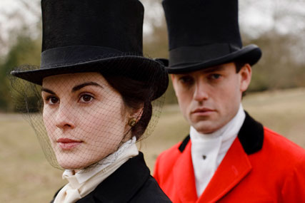 Lady Mary and Evelyn Napier, Downton Abbey