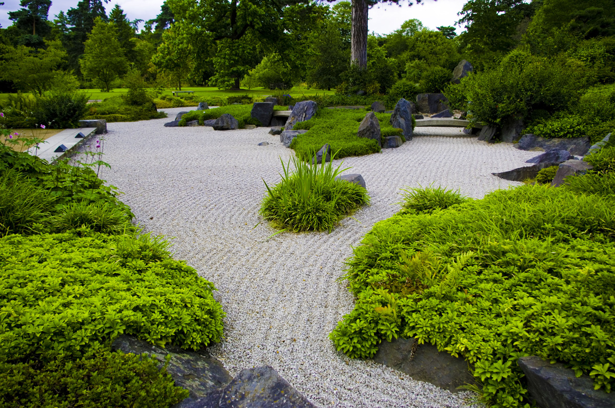 Zen garden be at peace image tony grant