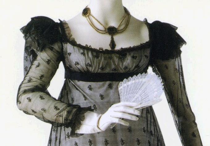 b3c216efae Regency gowns with net   Jane Austen's World
