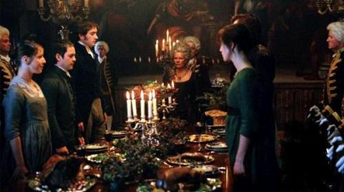 pride and prejudice, formal dining, table etiquette, relationships, the reporter and the girl
