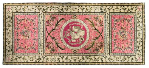 George III Axminster Carpet, England, by Thomas Whitty, late 18th century approximately 1323 by 572cm; 43ft. 5in. by 18ft. 9in. Photo: Sotheby's