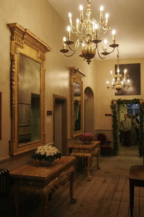 Restored interior, Brunswick House, 2005