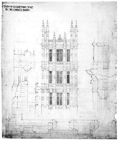 Highclere castle floor plan the real downton abbey jane for Castle architecture design