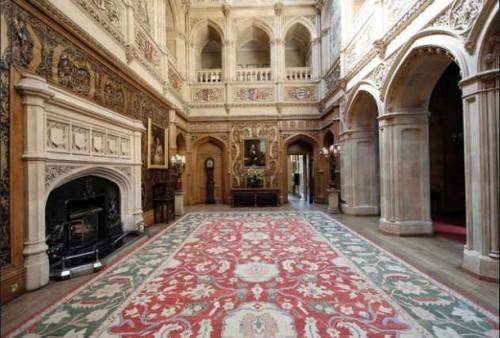 Highclere Castle Floor Plan: The Real Downton Abbey | Jane Austen's World
