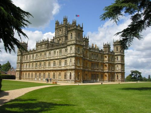 Highclere Castle after renovation